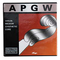 Synthetic Core Violin Strings Set 4/4 3/4 - Aluminium Wound APGW