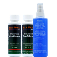 Blue Magic Waterbed Vinyl Cleaner 250ml and 2xConditioner 118ml