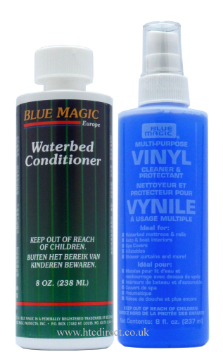 Blue Magic Waterbed Vinyl Cleaner 250ml and Conditioner 238ml
