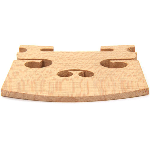 Violin Bridge 4/4 Maple - for professional violins