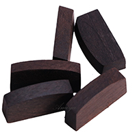 Finest Quality Ebony Violin Nut - 5 Pieces