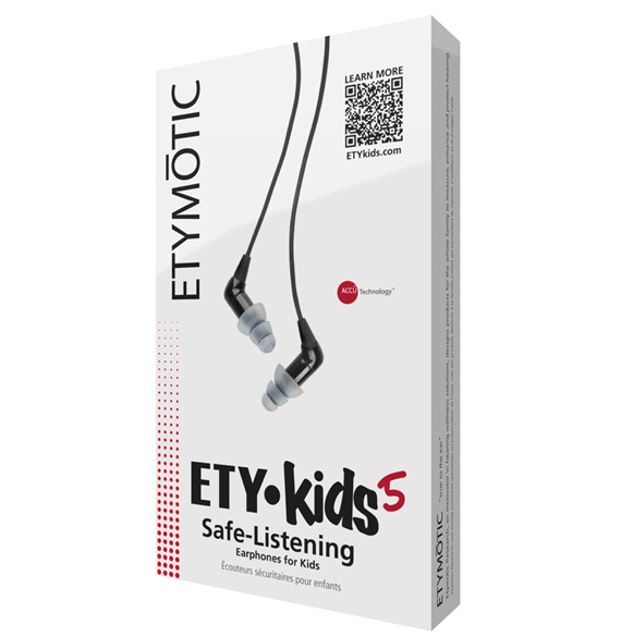 Etymotic Ety Kids5 Earphones - Black