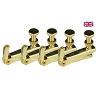 Violin Fine Tune Adjuster Standard Model Gold 4/4 x 4