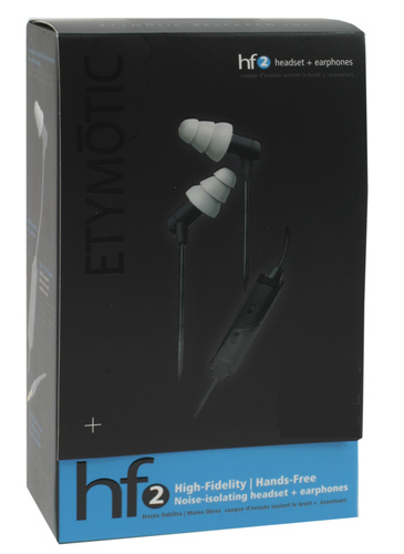 Etymotic hf2 Headset Black - (Android Awareness App)