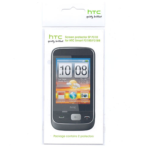 HTC Smart / F3180 / F3188 Screen Protector (2 Pack) - SP P310 .