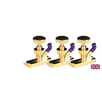 Violin Fine Tune Adjuster Hill Model Gold 4/4 x 3