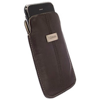 Krusell LUNA Mobile Pouch - Extra Large (Brown/Sand)