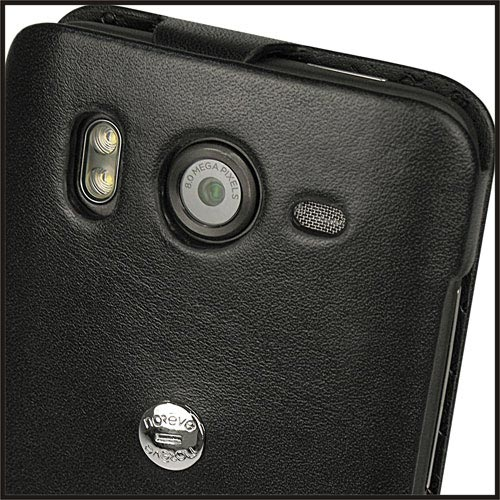 Noreve HTC Desire HD / A9191 Tradition Leather Case (Black) (+) larger image