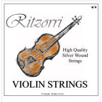 Ritzorri Violin Strings Full Set - 4/4 Size