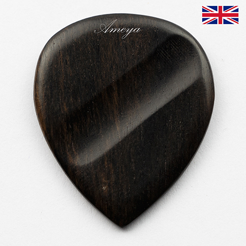 WOODEN GUITAR PLECTRUMS / PICKS MADE FROM EXOTIC WOODS