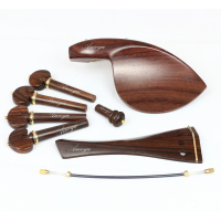 Violin Fittings Set Finest Rosewood