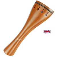 Violin Hollow Tulip Model Tailpiece Finest Boxwood +Free Tailgut