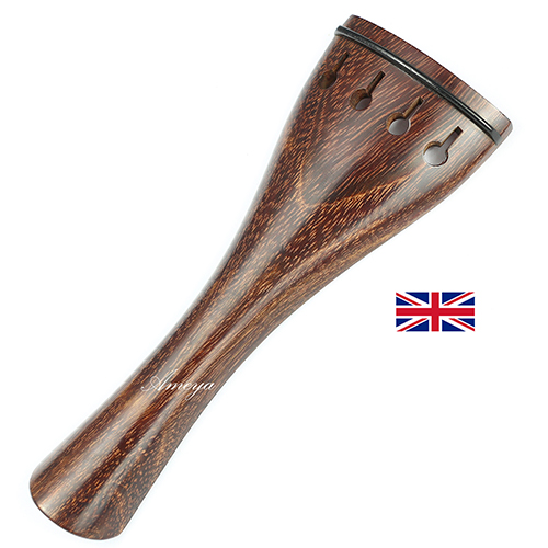 Tailpiece Tamarind Wood - Hollow Tulip Model with Ebony Trim