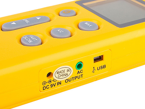 USB Digital Sound Level Meter (Range 40dB - 130dB)