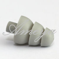Etymotic ER38-18A Gray 3 Flanged Eartips - long stem 5pr