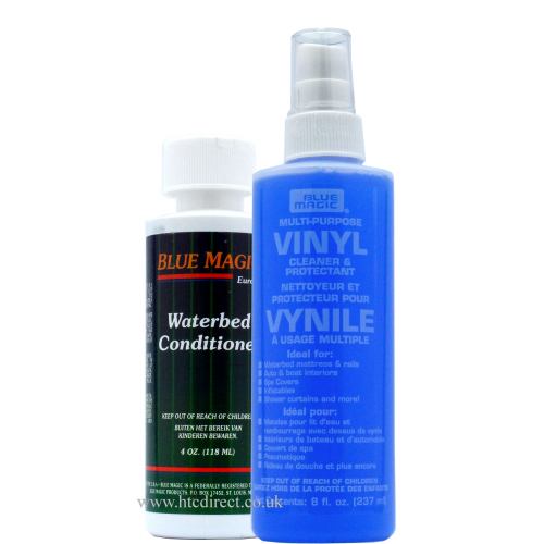 Blue Magic Waterbed Vinyl Cleaner 238ml and Conditioner 118ml