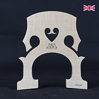 Korolia Cello Bridge Grandiose French 4/4 90mm