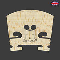 Korolia Violin Bridge Classic ST 3/4