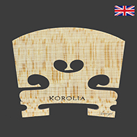 Korolia Violin Bridge Economy ST 1/2