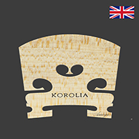Korolia Violin Bridge Economy ST 1/4