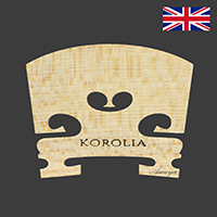 Korolia Violin Bridge Economy ST 1/8