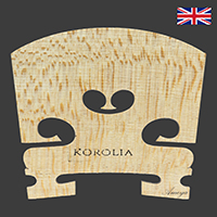 Korolia Violin Bridge Economy ST 3/4