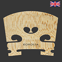 Korolia Violin Bridge Economy PR 4/4 41.5mm