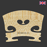 Korolia Violin Bridge Economy RS 4/4 41.5mm