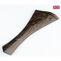 Tailpiece Palm Wood - Hollow Hill Harp Model with Ebony Trim