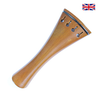 Tailpiece Boxwood - French Model with Ebony Trim