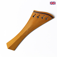Tailpiece Boxwood - Hollow Harp Model with Ebony Trim