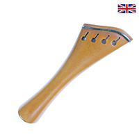 Tailpiece Boxwood - Harp Model with Ebony Trim