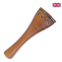 Tailpiece Boxwood - Tulip Model with Ebony Trim 10.8cm (shorter)