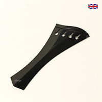 Tailpiece Ebony Wood - Harp Hill Model with Ebony Trim