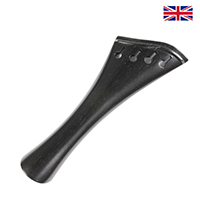 Tailpiece Ebony Wood - Harp Model with Ebony Trim