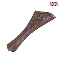 Tailpiece Tamarind Wood - Hollow Harp Hill Model with Ebony Trim
