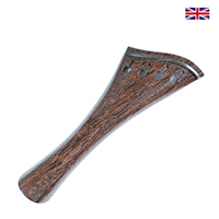 Tailpiece Tamarind Wood - Harp Model with Ebony Trim